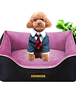 Dog Bed Pet Mats & Pads Solid Warm Soft Purple Coffee Red Green Blue