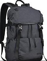 Men Shoulder Bag Polyester ABS+PC All Seasons Casual Outdoor Square Zipper Black Grey