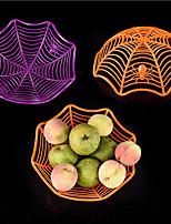 Halloween Decorative Spider Fruit Plate/Bar KTV Layout/Candy Biscuit Fruit Basket