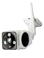 Veskys® outdoor impermeabile 180 gradi 2.0mp fisheye panoramico vr wireless telecamera di sicurezza ip