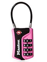 MasterLock 4697D Zinc Alloy Padlock Padlock 4 Digit Password TSA Lock Bag Password Padlock Dail Lock Password Lock