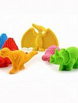 Cartoon Plastic Nylon School&Office Supplies Tridimensional Animal Shape Eraser 1PC(Color Random)