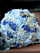 Romantic Starry Sky Wedding Bride Hand Holding Bouquet Wedding Decoration