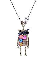 Lureme® Women's Men's Pendant Necklaces Jewelry Geometric AlloyUnique Design Gothic Sexy Crossover Punk Hip-Hop Rock Initial Jewelry Multi-ways