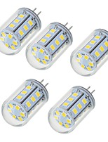 5W Luces LED de Doble Pin T 24 SMD 2835 450-550 lm Blanco Cálido Blanco Fresco V 5 piezas