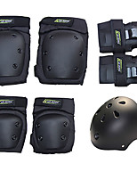 Kids' Adult Protective Gear Knee Pads + Elbow Pads + Wrist Pads Skate Helmet for Skateboarding Inline Skates Hoverboard Longboards Eases