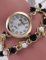 Women's Bracelet Watch Digital Metal Band Black