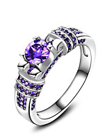 Women's Ring  Vintage Elegant Sapphire Silver Ring Jewelry For Wedding Anniversary Party/Evening Engagement Ceremony