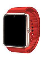 Men's Smart Watch Fashion Watch Digital Water Resistant / Water Proof Rubber Band Black Red Brown