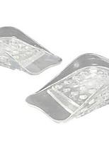 1pair прозрачный 5 слоев регулируемый более высокий стельки силиконовый гель вставки подтяжки обуви колодки повышение роста удобный массаж