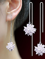 Hoop Earrings Basic Crystal Jewelry For Wedding Anniversary Graduation Valentine 1 pair