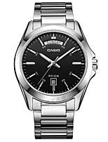 Casio Homens Relógio Esportivo Relógio de Moda Relógio Casual Japanês Quartzo Calendário Impermeável Aço Inoxidável Banda Legal Casual