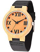 Men's Fashion Casual Unique Luxury Wooden Genuine Leather Quartz Watches Clock Relogio Masculino Hodinky Hour Handmade