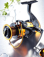 Fishing Reel Bearing Spinning Reels 5.2:1 14 Ball Bearings ExchangableSea Fishing Freshwater Fishing Trolling & Boat Fishing Lure Fishing