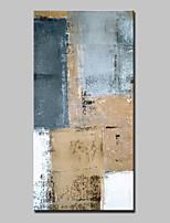 Ручная роспись Абстракция Вертикальная,Абстракция Modern 1 панель Холст Hang-роспись маслом For Украшение дома