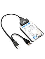 USB 2.0 Cavo adattatore, USB 2.0 to SATA II Cavo adattatore Maschio/femmina