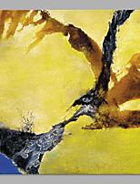 Dipinta a mano Astratto Stile da spiaggia Un Pannello Tela Hang-Dipinto ad olio For Decorazioni per la casa