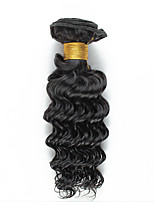 50g/Pcs 1 Bundle 8-26inch Brazilian Virgin Deep Curly Hair Natural Black Human Hair Bundles