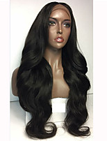 Natual Wave Style Guleless Lace Front Wig For Black Women Bleach Knots Guleless Full Lace Wigs Hot Selling Fast Shipping Large Stocks