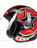 Каска Плотное облегание Компактный Воздухопроницаемый Лучшее качество Half Shell Спорт ABS Каски для мотоциклов