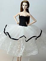 Vestidos por Muñeca Barbie  Vestido por Chica de muñeca de juguete
