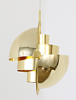 Post Modern Europe Style Rotate Shade Gold Color Chandelier Lamp for the Bedroom / Living Room / Canteen / Bar / Entry Decorate Lighting Fixture