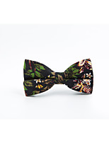 Men's Cotton Bow Tie,Casual Print All Seasons