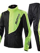 Scoyco Racing Motorcycles Raincoats Rain Pants Suits Men's Waterproof Night Reflection RC01