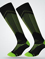 Simple Sport Socks / Athletic Socks Men's Socks All Seasons Anti-Slip Anti-Wear Cotton Soccer/Football