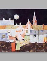 Dipinta a mano Paesaggi Orizzontale,Artistico Un Pannello Tela Hang-Dipinto ad olio For Decorazioni per la casa