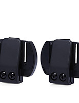 2Pcs/Lot V6 Clip Bracket Suitable for V6 V4 V2-500C Motorcycle Bluetooth Multi Interphone Headset Helmet Intercom Holder Buckle
