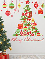 Navidad Romance Día Festivo Pegatinas de pared Calcomanías de Aviones para Pared Calcomanías Decorativas de Pared MaterialDecoración