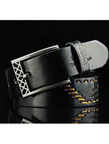 Men's casual pin buckle belt Men's retro personality belt The cowboy belts Agio hollow-out lacing fashionable joker belt