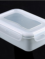 Plastic Mini Kitchen Square Sealed Lunch Box