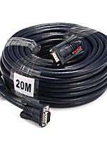VGA Cable, VGA to VGA Cable Macho - Macho 20.0m (60 pies)