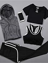 Damen Langarm Laufen Unterwäsche Kompressionskleidung Tank Tops Kleidungs-SetsRadfahren Camping & Wandern Fitness, Laufen & Yoga Normal