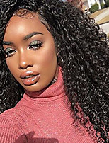 Hot!!! Lace Front Human Hair Wigs Kinky Curly for Black Woman 130% Density Brazilian Virgin Hair Curly Wig with Baby Hair