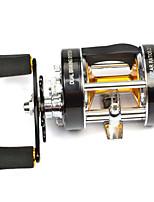 Fishing Reel Bearing Molinete de Isca 5.2:1 6 Rolamentos Trocável Pesca de Mar Pesca Voadora Pesca de Água Doce Pesca de Isco Pesca Geral-