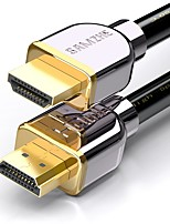SAMZHE  SM-5580  HDMI 2.0 Cable HDMI 2.0 to HDMI 2.0 Cable Male - Male Gold-Plated Steel 8.0m(26Ft)