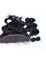 Tejidos Humanos Cabello Cabello Brasileño Ondulado Grande Más de Un Año 3 los tejidos de pelo