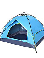 3-4 persons Tent Camping Tent Automatic Tent Rain-Proof for Camping / Hiking CM Other Material