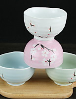 Creative Pottery Bowl Home Cooking Rice Bowl Bowl Chopsticks Set Gift