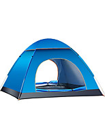 3-4 persons Camp Bed Single Automatic Tent One Room Camping Tent Oxford Keep Warm Camping & Hiking Wateproof-Camping / Hiking Camping