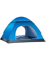 3-4 personnes Lit de Camp Unique Tente automatique Une pièce Tente de camping Oxford Garder au chaud Camping & Randonnée Etanche-Camping