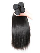 Ciocche a onde capelli veri Indiano dritto 6 mesi 1 pezzo tesse capelli