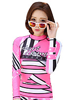 Korean Diving Suit Female Float Suit Split Sunscreen Jellyfish Clothing Long-Sleeved Surfing Suit New Thin Hot Spring Swimsuit