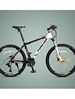 Mountain Bike Cycling 30 Speed 26 Inch/700CC MICROSHIFT 24 Disc Brake Suspension Fork Aluminium Alloy Frame Aluminium Alloy Aluminium