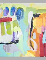 Handgemalte Landschaft Vertikal,Künstlerisch Abstrakt Ein Panel Leinwand Hang-Ölgemälde For Haus Dekoration