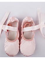 Mujer Ballet Seda Planos Entrenamiento Rosa