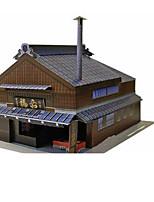 Набор для творчества 3D пазлы Бумажная модель Игрушки Знаменитое здание Архитектура 3D Не указано Куски
